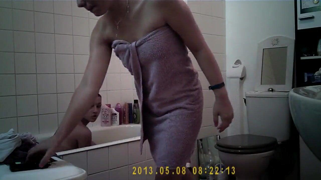 Камера В Ванной Порно